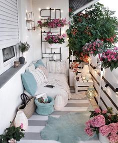 Examples of Small Balcony Decoration, balconies furnitures, we have prepared great ideas for those with small balconies. More than 100 examples for small balcony decoration. My balconies are very . Apartment Balcony Decorating, Apartment Living, Apartment Balconies, Apartment Porch, Decorating Small Apartments, Small Cozy Apartment, Apartment Patio Gardens, Cozy Apartment Decor, 2 Bedroom Apartment