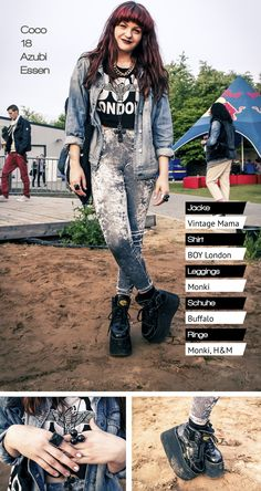 Boy London, Buffalo Shoes, Spice Girls, Platform Boots, Rock Style, Mode Inspiration, Punk, Hairstyles, Women's Fashion
