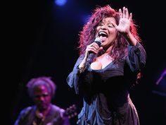 Chaka Khan performs at the opening night of Celebrate Brooklyn! at Prospect Park Bandshell on June 3, 2015 in the Brooklyn borough of New York City.  Al Pereira, WireImage