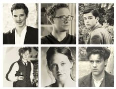 Young Sherlock cast. :) - Oh my! Martin! Benedict! Rupert! Even Mark! Where were you guys in Highschool? Sorry, Andrew looks a bit like my brother.