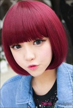 23 Short Bob Hairstyle For Asian Girls | Latest Bob Hairstyles | Page 6