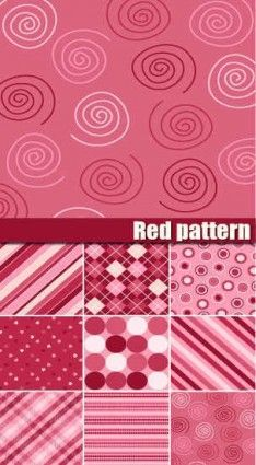 Pink Pattern background vector graphics