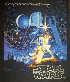 star wars cross stitch... wow!!! via sprite stitch forum