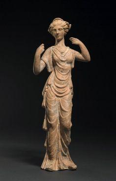 Menophilus (Ancient Greek sculptor from Ephesus). Terracotta figure of Aphrodite, c.1-75 AD