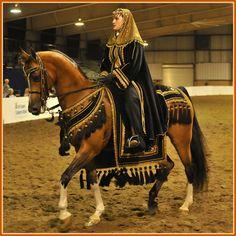 Arabian in Costume