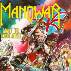 Classic Metal Album Covers: Manowar - Hail to England