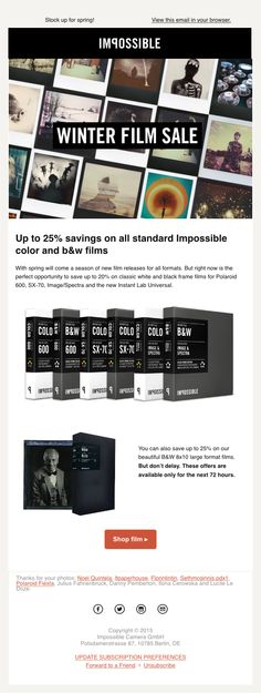 20 best Cool Email Samples images on Pinterest Email newsletter