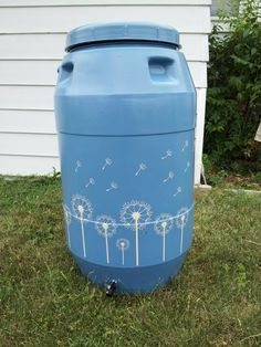 My first pin :)  Spruced up our rain barrel with outdoor paint and stickers from etsy: http://www.etsy.com/transaction/86768198?utm_source=transaction_medium=trans_email_campaign=purchase_ftb_alt