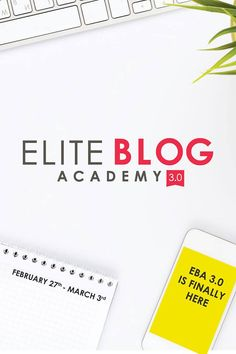 Christian blogger? Doors are now OPEN for Elite Blog Academy! Get ready to make your blog the best it can be! (Hurry - doors close March 3rd!) {affiliate}