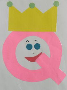 the vintage umbrella: Preschool Alphabet projects... Q-Z