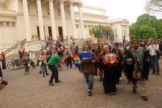Museo de La Plata: ceremonia de restitución mapuche