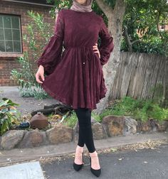 Pinterest: just4girls Modern Hijab Fashion, Street Hijab Fashion, Muslim Fashion, Modest Fashion, Hijab Style, Hijab Chic, Frock Fashion, Fashion Outfits, Hijab Evening Dress
