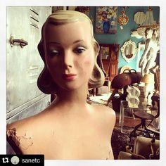 #Repost @sanetc  our new lady #vmcentral  #vintagemannequins #lovevm #mannequins #vintage #visualmerchandising #visualmerchandisers #VM