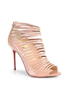 eca3c53605cf Christian Louboutin - Gortika Patent Leather Ankle Boots. Christian  Louboutin ShoesStrappy SandalsShoes ...