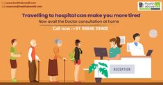 Home has never been this easy! Just at the click of a button avail affordable home healthcare service for seniors. Call on 98846 39400 to place an order now. Doctor On Call, Good Doctor, Chennai, Health Care, Button, Easy, Buttons, Knot, Health