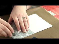 ▶ Create a Card Dies : Double Fronted Gatefold - YouTube