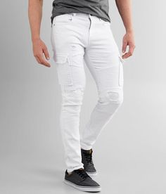Fly Shoes, White Skinny Jeans, Stretch Jeans, Stretch Fabric, Sweatpants, Slim, Model, How To Wear, Pasta