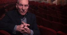 His father was an abuser. After Patrick Stewart found out PTSD was a factor, he made this appeal.