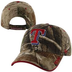 Texas Rangers '47 Brand Frost Adjustable Hat – Realtree Camo - $22.99