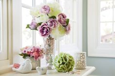 Signature Accents Modern Romance Floral Collection