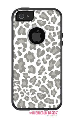 OTTERBOX Commuter iPhone 6 5 5S 5C 4/4S Samsung Galaxy S3 S4 S5 Note 2 3 Case Grey Leopard Cheetah design Fashion Series Collection by iselltshirts on Etsy