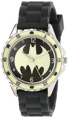 Awesome kids glow-in-the-dark Batman watch for under $10