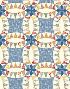 """Aunt Grace in A Pickle"" fabric by Judie Rothermel for Marcus Fabrics"