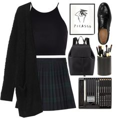 """""""picasso"""" by bambikisses on Polyvore"""