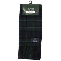 Clans Of Scotland 100% Wool Tartan Scarf Scottish Clan Names Keith to MacIntyre: MacCallum Modern Tartan  Keith Clan