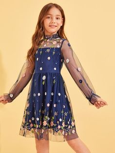 Girl's Dresses, Shop Dresses for Older Girls Online Preteen Girls Fashion, Girls Fashion Clothes, Teen Fashion Outfits, Kids Fashion, Fashion Dresses, Fashion Fall, Fashion Trends, Girls Dresses Online, Kids Outfits Girls