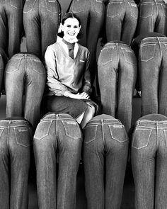 Gloria Vanderbilt and her jeans!