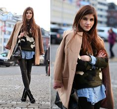 MILITARY SUNDAY (by M. K.) http://lookbook.nu/look/4512933-MILITARY-SUNDAY