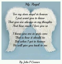 Baby Angel Poems Rip Angels In Heaven Quotes Like Mummys Little