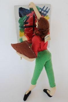 Vintage Layna / Roldan Artist Doll.
