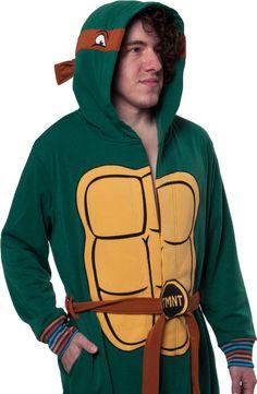 Ninja Turtle Bathrobe