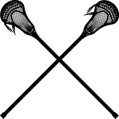 File:Crossed lacrosse sticks.svg