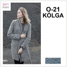 O-21 KÒLGA Garnpakke - Garnmani.no - Spesialist på islandsk garn 21st, Sweaters, Design, Fashion, Threading, Moda, La Mode, Pullover, Sweater