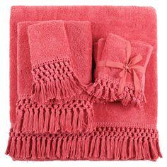 Crochet and Fringe Towel | ZARA HOME United States of America