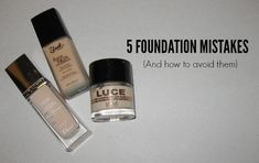 The base of any makeup look? Foundation. Unlike eyeliner or bronzer, it can seem very easy to master. And yet, we all keep making lots of mistakes, from choosing the…