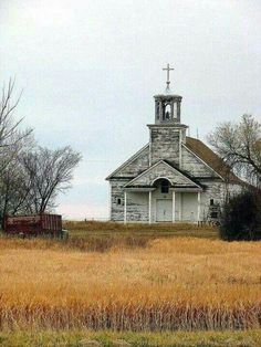 Our little country church stood proud