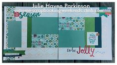 I used CTMH City Sidewalks Cricut Collection to make this pretty overlay.