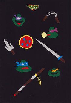 tortues ninja by Paul Loubet, via Flickr