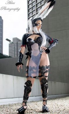 Final fantasy 12 fran cosplay are absolutely