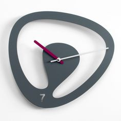 Clock by Karim Rashid does not believe in Luck; his mantra is perseverance, diligence and talent.