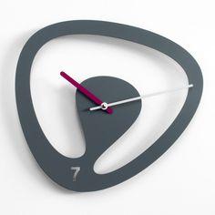 Karim Rashid Pendule Originale, Horloge Murale, Design Produit, Montre, Horloges  Murales Grises 81882d2fd16a