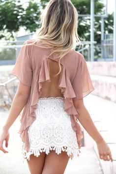 lace lace lace and and an open back