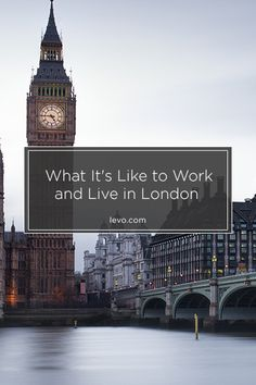 Local Levo leader Tola Shasanya tells us what it's like to work and live in #London! www.levo.com