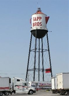 Sapp Brothers Water Tower - Omaha, Nebraska- you always know you are home or close to it when you see it!