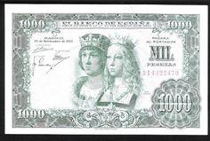 1957 - BILLETE - 1000 PESETAS - REYES CATOLICOS | Monedalia.es