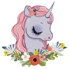 Wall decal nursery pastel unicorn with flowers, wall decal mythical creatures, wall sticker animals, baby room wall decoration Wall Stickers Unicorn, Wall Stickers Animals, Normal Wallpaper, Unicorn Fantasy, Christmas Drawing, Wall Tattoo, Nursery Wall Decals, Mandala Art, Mythical Creatures